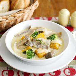エビとアスパラのスープ 牛乳を使ったレシピ 明治おいしい牛乳 おいしい暮らし Natural Taste 株式会社 明治
