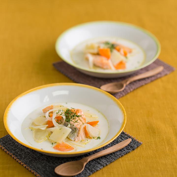 牛乳 レシピ スープ