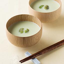 そら豆のミルクスープ 牛乳を使ったレシピ 明治おいしい牛乳 おいしい暮らし Natural Taste 株式会社 明治
