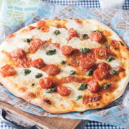 山椒風味のトマトピザ 牛乳を使ったレシピ 明治おいしい牛乳 おいしい暮らし Natural Taste 株式会社 明治