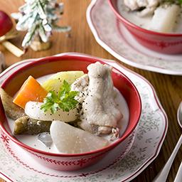 鶏と冬野菜のポトフ 牛乳を使ったレシピ 明治おいしい牛乳 おいしい暮らし Natural Taste 株式会社 明治